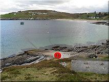 NC5863 : Talmine slipway by Peter Moore