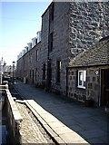 NJ9505 : Access to South Square, Footdee by Stanley Howe