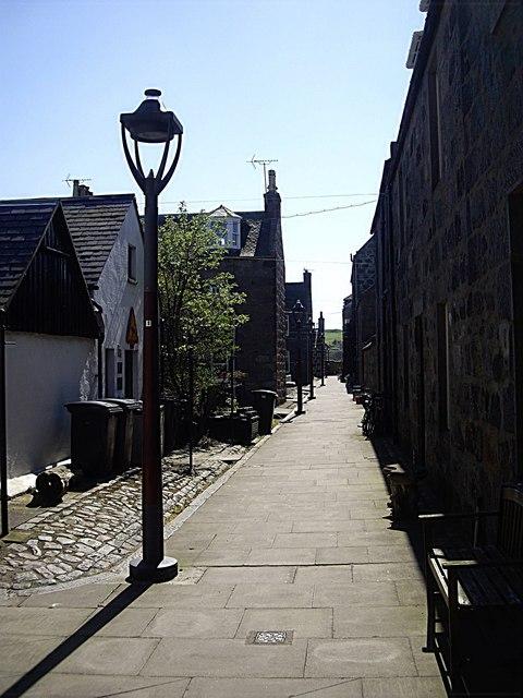 A street in Footdee