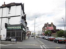 TQ1885 : Mannions Irish pub, Wembley by Roger Cornfoot