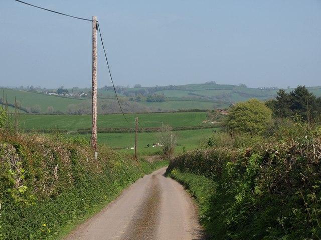 Lane to Thongsleigh