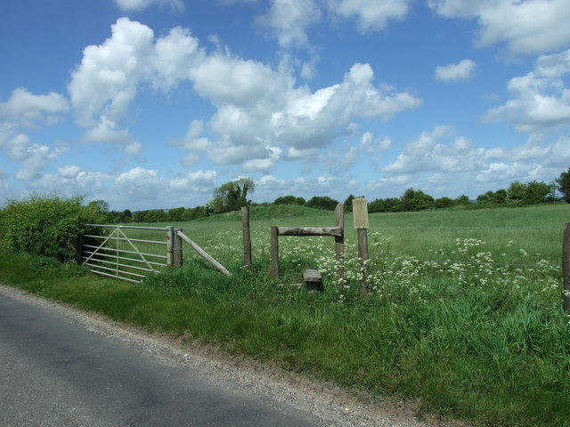 Stile and Gate, Thickthorn Down