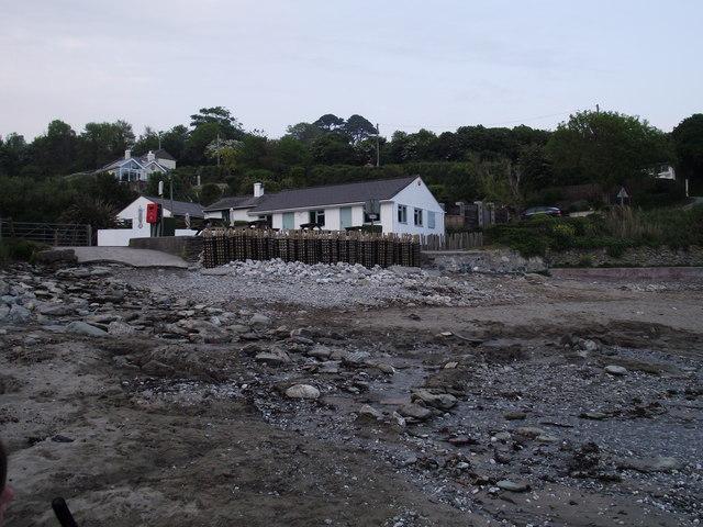 Beach cafe at Talland Bay