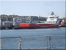NJ9505 : Torry Quay, Aberdeen Harbour by Stanley Howe