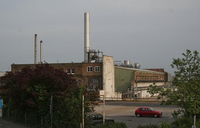 Snodland paper mill