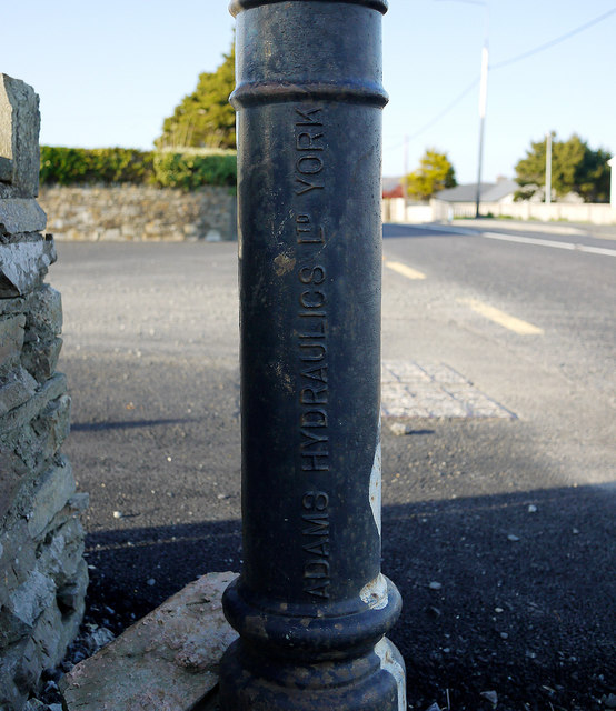 Sewage vent pipe, Dunfanaghy