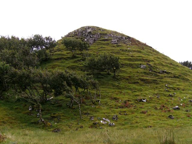 Grassy Hill in Fairy Glen