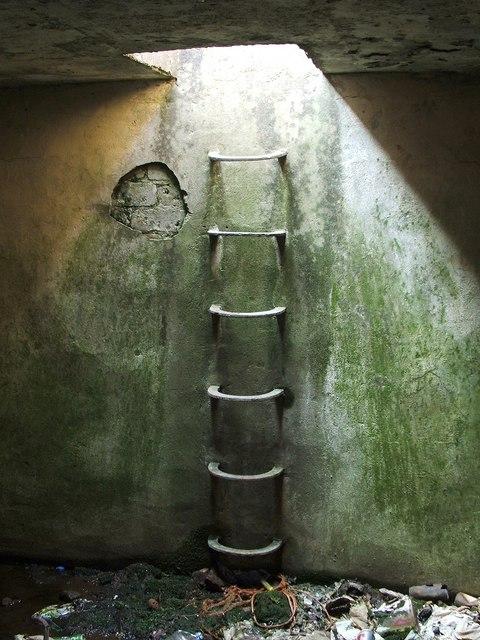 Inside the Starfish Decoy control bunker
