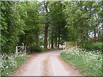 TG0524 : The entrance to Old Hall Farm by Geographer