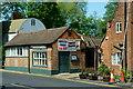 TQ5465 : Former Tearoom, Eynsford, Kent by Peter Trimming