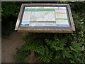TM2446 : Martlesham Circular Walks information board by Geographer