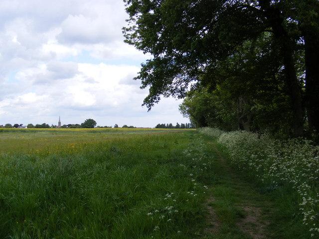 Footpath to Walnuts Lane