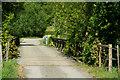 TQ5365 : Bridge Over the River Darent, Kent by Peter Trimming