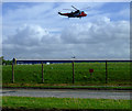 NS3427 : Raf rescue helicopter by Thomas Nugent