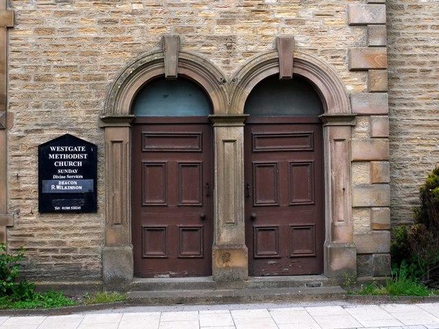 Doorways, Primitive Methodist Chapel, Westgate