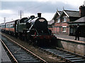 D0605 : Steam train at Cullybackey station by The Carlisle Kid