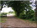 TM3056 : Footpath to Quill Farm by Adrian Cable