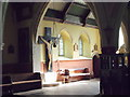 SW5531 : North chapel, St. Hilary's by nick macneill