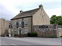 NY9038 : Hare & Hounds, Front Street, Westgate by Andrew Curtis