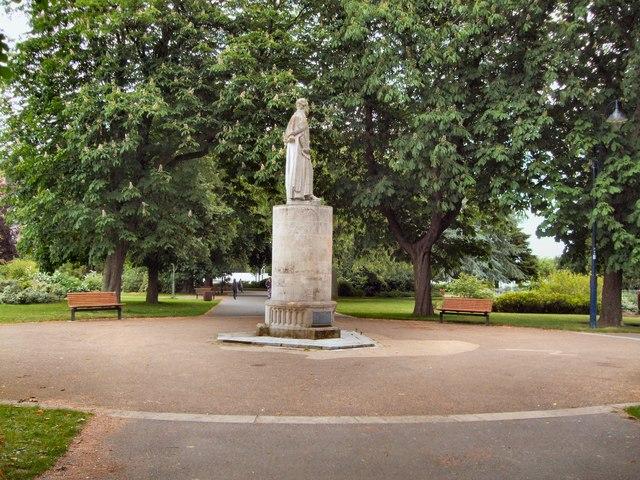 Richard Andrews memorial  in East Park, Southampton
