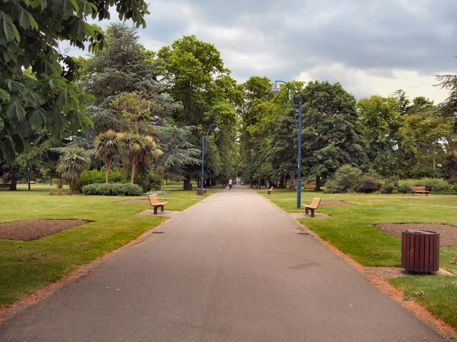 Path in East (Andrews) Park