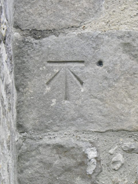 Bench Mark, Church of St Michael's and All Angels