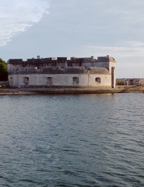 Portland Castle (1): from the harbour