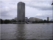 TQ3078 : Millbank Tower and Pier, Westminster by PAUL FARMER
