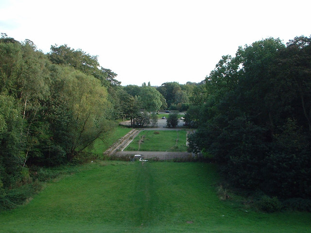 site of the old open air swimming pool