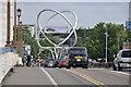 TQ2575 : London : Wandsworth - Wandsworth Bridge by Lewis Clarke