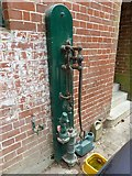 SU7209 : Sir George Staunton Country Park: old fashioned pump by Basher Eyre