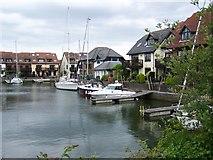 SU4208 : Hythe Village Marina by David Martin