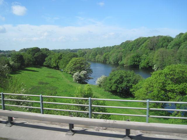 River Lune from M6 bridge