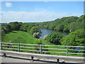 SD4964 : River Lune from M6 bridge by John Firth