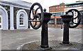 J3475 : Glenfield & Kennedy wheels, Belfast (1) by Albert Bridge