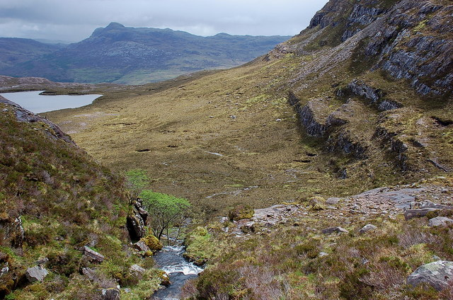 Coire na Poite from mid-height