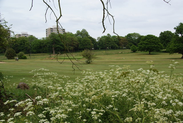The pay and play golf course in Richmond Park