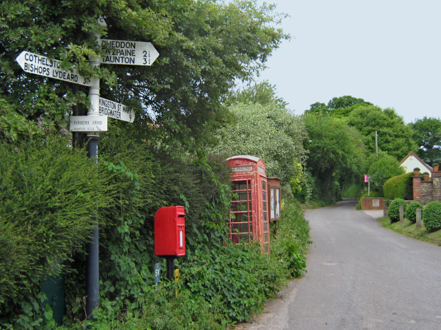 The road to Kingston at Fulford