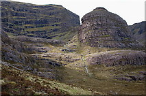 NG8145 : Coire na Poite from the southeast by Jim Barton