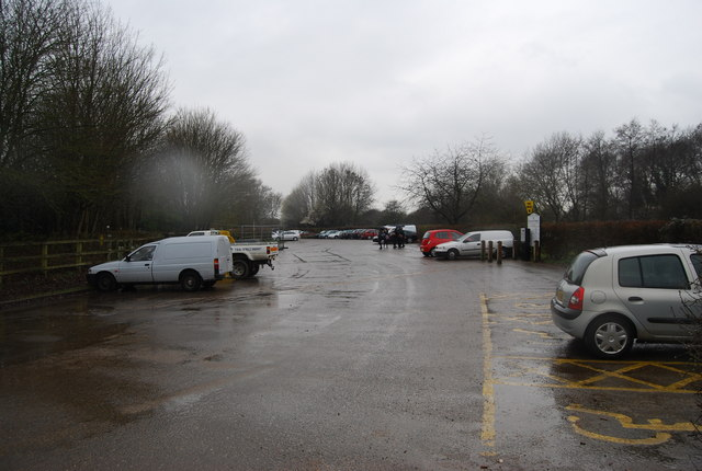 Haysden country park car park