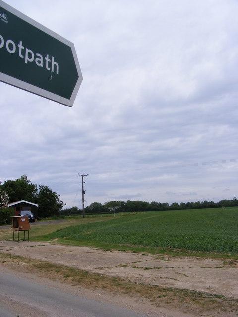 Footpath to Dallinghoo