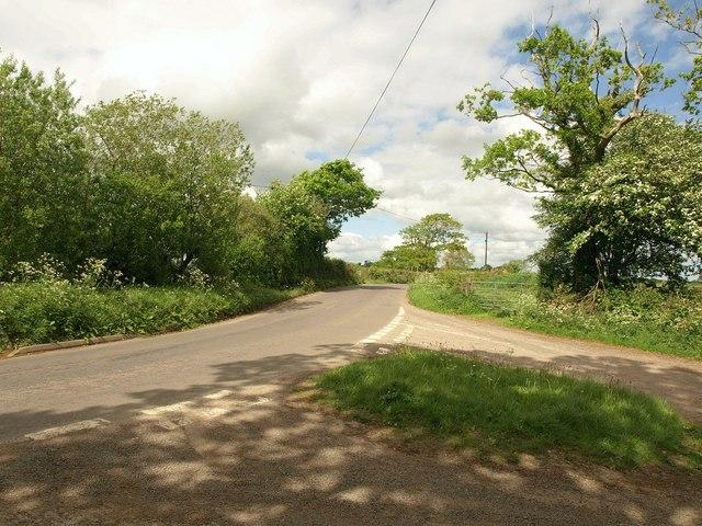 B3042 at Five Oaks Moor