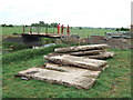 TF3801 : Decking from the old bridge - The Nene Washes by Richard Humphrey
