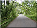 TM2956 : Wickham Market Road at Glevering Bridge by Adrian Cable