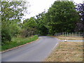 TM2957 : Wickham Market Road, Hacheston by Adrian Cable