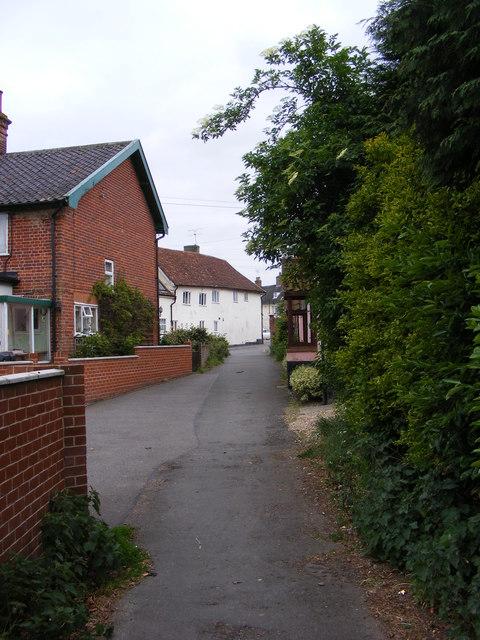 Little Lane Bridleway to Broad Road