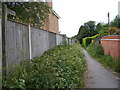 TM3055 : Little Lane Bridleway to the B1078 Border Cot Lane by Adrian Cable
