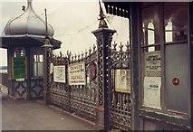 SH5873 : Bangor Pier, before restoration by Chris Andrews