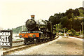 SX8851 : GWR Lydham Manor at Kingswear station by Raymond Knapman