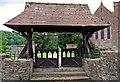 SO7362 : All Saints Church (2) - lychgate, Shelsley Beauchamp by P L Chadwick